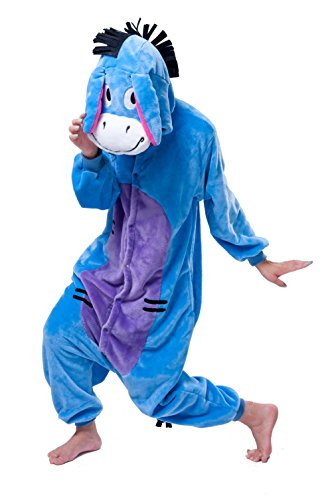 Snack Machine Costume (AooToo Womens Costumes Onesie Halloween Unisex Role Play Flannel Animal Pajamas(XMLV, S))
