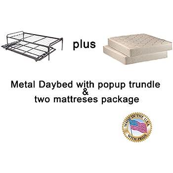 Amazon Com Leggett Platt Pop Up 39 Inch Link Spring Trundle Bed