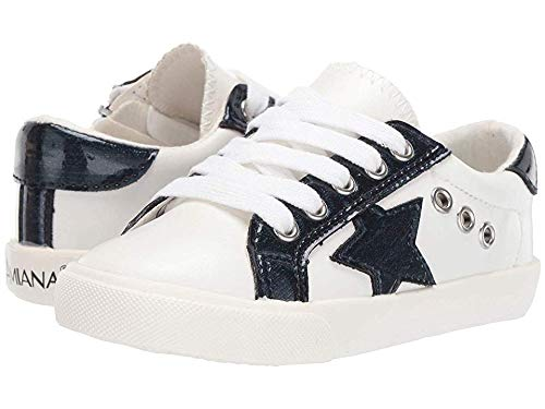 Amiana Baby Girl's 15-A5506 (Toddler/Little Kid/Big Kid/Adult) White/Blue Patent/Pu Combo 29 M EU