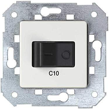 Simon 75410-30 - Automatico Empotrar 10A - 1P+N 3Ka: Amazon.es: Bricolaje y herramientas
