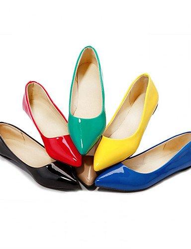 de plano Creepers verde mujer rojo bombas black y talón under PDX de zapatos 1in amarillo Beige azul vestido negro carrera oficina casual talones SCYxwqtEX