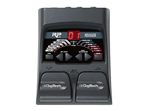 - DigiTech RP55 Guitar Multi-Effects Processor