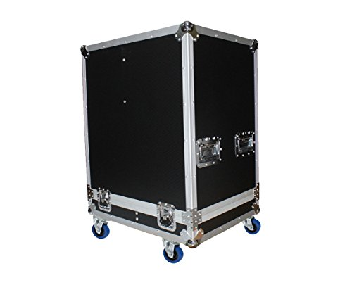 ProX X-RCF-HDL20AX2W Flight Case for 2x RCF HDL 20-A Active Speaker PROAUDIOSTAR by Pro-X
