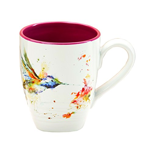 Demdaco B5050124 Big Sky Carvers Hummingbird Mug, Multicolored (Mugs For Sale Big)
