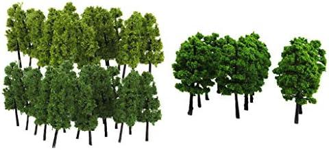 T TOOYFUL モデルツリー タワーツリー 1/100 1/150 塔の木 都市風景 ジオラマ 建築模型 写真 約40個入り