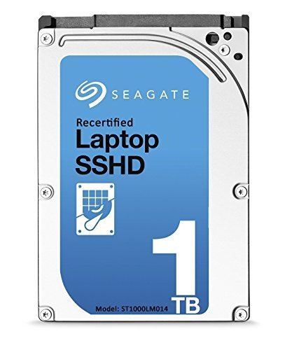 Seagate 1TB Gaming SSHD SATA 8GB NAND SATA 6Gb/s 2.5-Inch Internal Bare Drive (ST1000LM014) (Certified - Ata Laptop Drives Rpm Hard