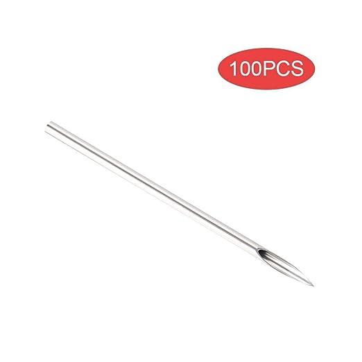 Simlug Receptor de perforación Corporal, 100pcs Receptores de ...