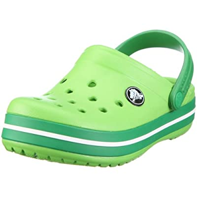 Crocs Crocband Shoe for Kids and Toddlers, Size: 10-11 M US Little Kid, Color: Lime/Kelly Green