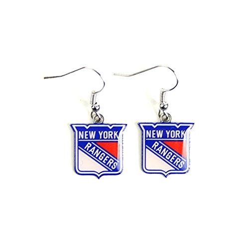 NHL New York Rangers Dangler Earrings (New York Rangers Vs Islanders Live Stream)