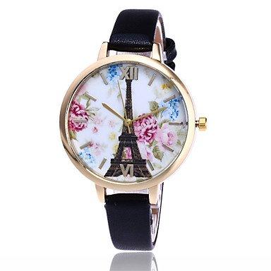 Fashion Watches Relojes Hermosos, Mujer Reloj de Moda Reloj de Pulsera Cuarzo/PU Banda