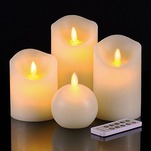 Ry king Flameless Candles Dancing Control
