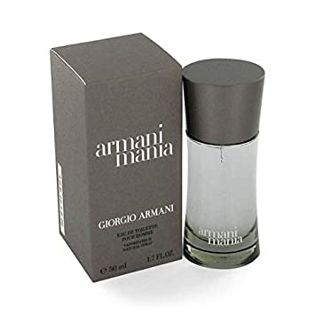Giorgio Armani Mania fragrance for men by Giorgio Armani Eau De Toilette Spray 3.4 oz