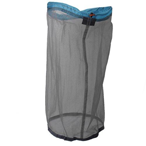 Ultra Light Mesh Stuff Sack Storage Bag for Tavel Camping 16.9 x 13.7 inch
