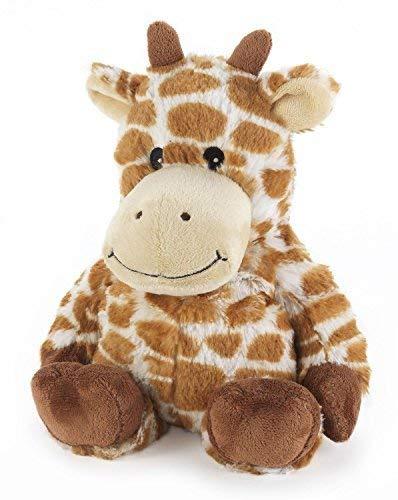 Intelex Cozy Microwavable Heatable Plush Giraffe by Intelex