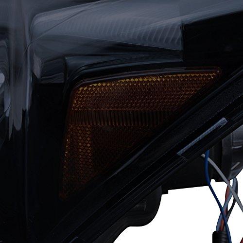 Glossy Spec-D Tuning 2LHP-CRV07G-TM Black Projector Headlight