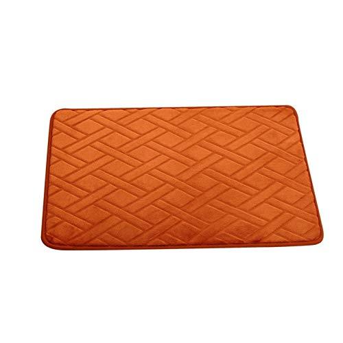(dongzhifeng Rug Rugs Welcome Mat Door Matt Indoor Matt Outdoor Non-Slip Velvet Pad Bathroon Carpet Rug Bedroom Floor Mat Living Room Cloakroom Carpet 5080cm 2)