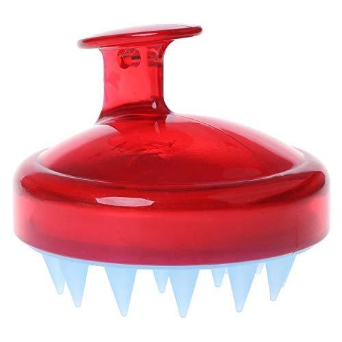 2019 SILISCRUB - The Original Silicone Shampoo Brush (Red)
