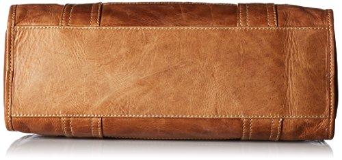 Leather Handbag Beige Satchel Melissa FRYE Zip 8AxWn6apHq