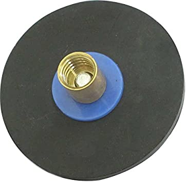 Horobin 150 mm 6 Inch Rubber Plunger Drain an attachment for Drain Rod
