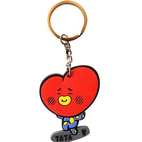 s Acrylic Keychain Key Ring Pack of 2 (TATA) (Boy Key Ring)