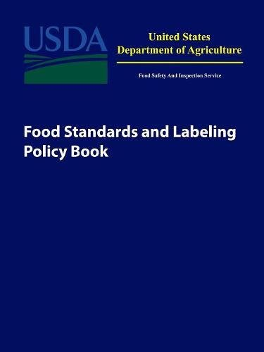 Food Standards and Labeling Policy Book