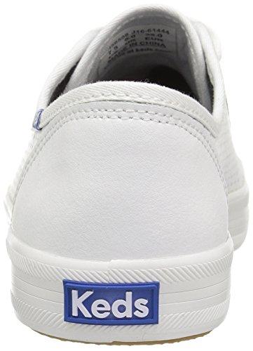 | Keds Women's Kicsktart Retro Court Perf Leather Fashion Sneaker | Fashion Sneakers