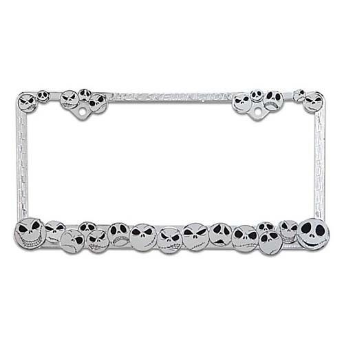 chrome license plate frame disney - 8