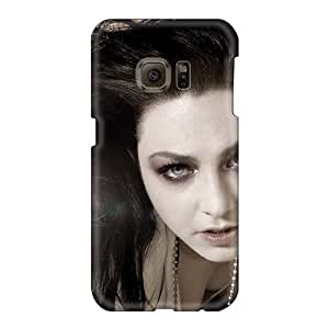 Shock Absorbent Hard Phone Case For Samsung Galaxy S6 With Customized Fashion Evanescence Band Pattern AnnaDubois