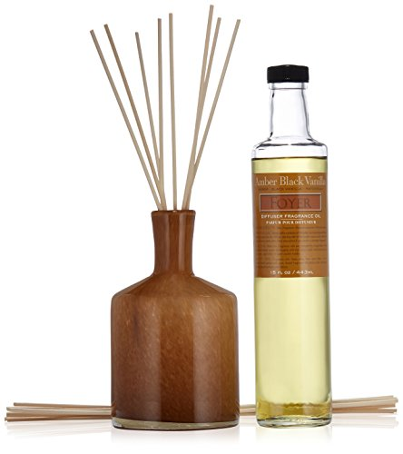 Lafco House   Home Diffuser  Foyer Amber Black Vanilla  15 Fl Oz