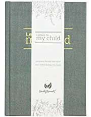 LovelySprouts - Letters To My Child Baby Journal - Pregnancy Journal and Baby Memory Book For the Baby's First Year - Modern Heirloom and Keepsake (Gray)
