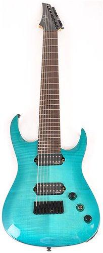 Ágil Septor 827 RN CP Ocean Burst Flame 8 cuerdas guitarra eléctrica