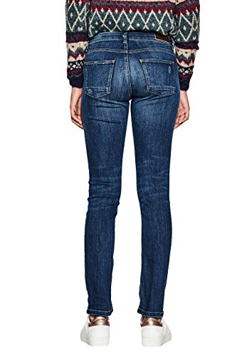 Medium Blu Blue Donna Jeans Wash 902 Straight ESPRIT qTXfAX