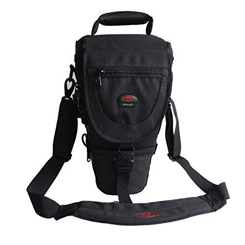 - Baoluo SLR/DSLR Camera Bag Shoulder Triangle Bag for Lens Camera, Holster Camera Case -Black