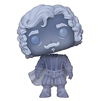 Funko Figurines Pop Vinyl: Harry Potter: Nearly Headless Nick (Blue Trans) Collectible Figure, 30034, Multicolour