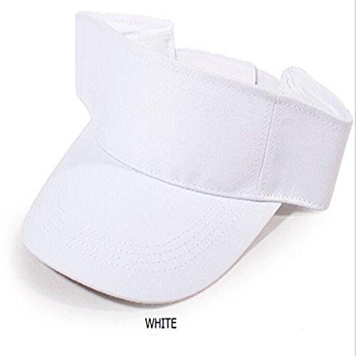 74b36da2308 Jual Dealzip Inc Slimple Style Solid Sports Blank Sun Visor Hat Cap ...