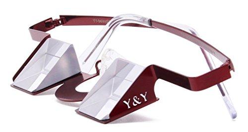 Y Y Belay Glasses V1 2  Bordeaux Red