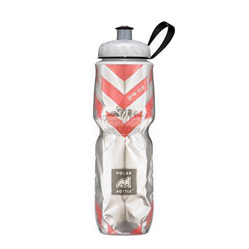 Polar Bottle Insulated Water Bottle (24-Ounce) (Chevron Red) (Amazon Sale)