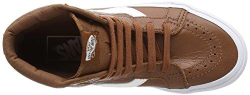 VansSk8-hi Reissue - Zapatillas de Deporte Unisex adulto Azul - Bleu - Blue (Premium Leather - Tortoise Shell)