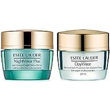 Estee Lauder Daywear & Nightwear Plus Anti-oxidant Creme Duo Pack - O.5 Oz/15 Ml X 2