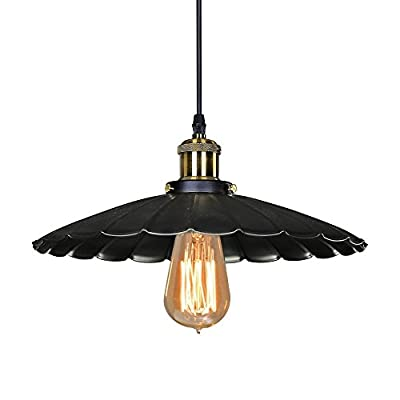 "WinSoon 10"" MODERN VINTAGE INDUSTRIAL RUSTIC BAR LOFT METAL PENDANT CEILING LIGHTS FIXTURES"