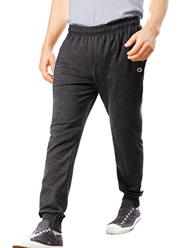 Champion Men's French Terry Jogger, Granite Heather, X-Large