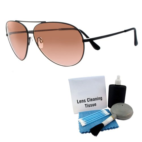Serengeti 5222 Aviator Sunglasses Matte Black Frames Photochromic, Cleaning - And Serengeti Sunglasses