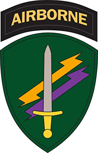 Military Vet Shop US Army 4th Psychological Operations Group Window Bumper Sticker Decal 3.8