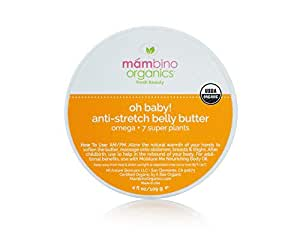 Mambino Organics Belly Butter, 4 Ounce