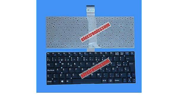 Amazon.com: FidgetFidget Keyboard for Sony Vaio SVT11 SVT111A11V Svt11115fds Svt111190s Spanish Teclado: Electronics