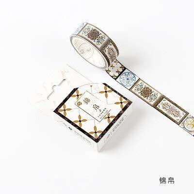 LFDJD Enmascarado Lámina de Oro Laminado DIY Craft Glitter Crane ...