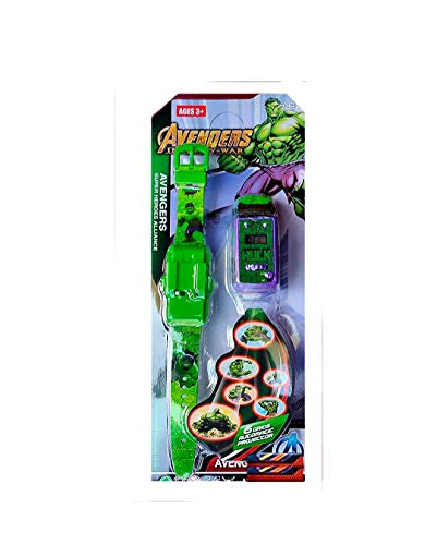 Action Figure Series Pull Back Truck Car Shaped 6 Images Projector Toy Wrist Watch for Kids Gift (Green) (B084261K4K) Amazon Price History, Amazon Price Tracker