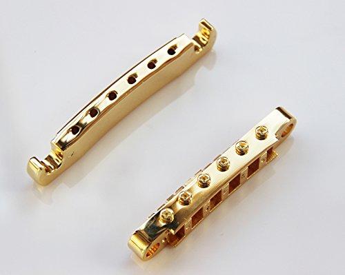 BetterJonny - 1 Set New Gold Guitar Tune-O-matic Bridge Tailpiece Tail For Gibson Les Paul SG