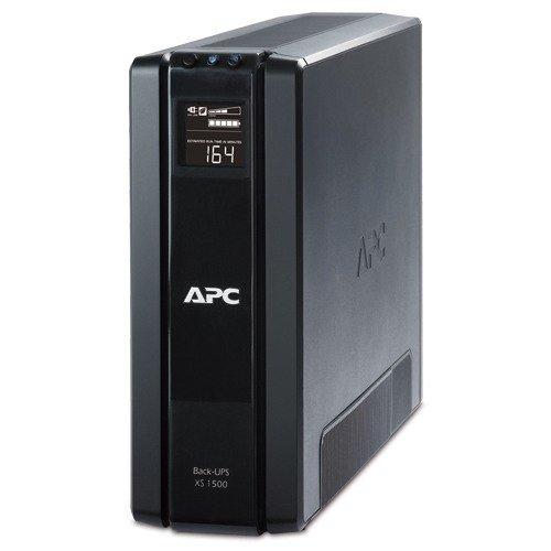 APC BX1500G Power-Saving Back-UPS XS Backup System, 1500VA,