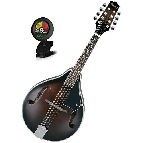 IbanezM510DVS A-Style MandolinDark Violin Sunburst w/ Tuner (Ibanez Sunburst Violin)
